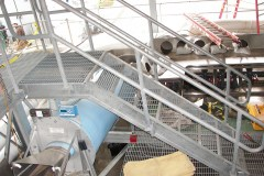 Misc Steel Fab - Galvanized Steel Stair & Rail