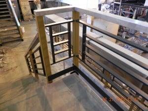 Manhattan Stair rail
